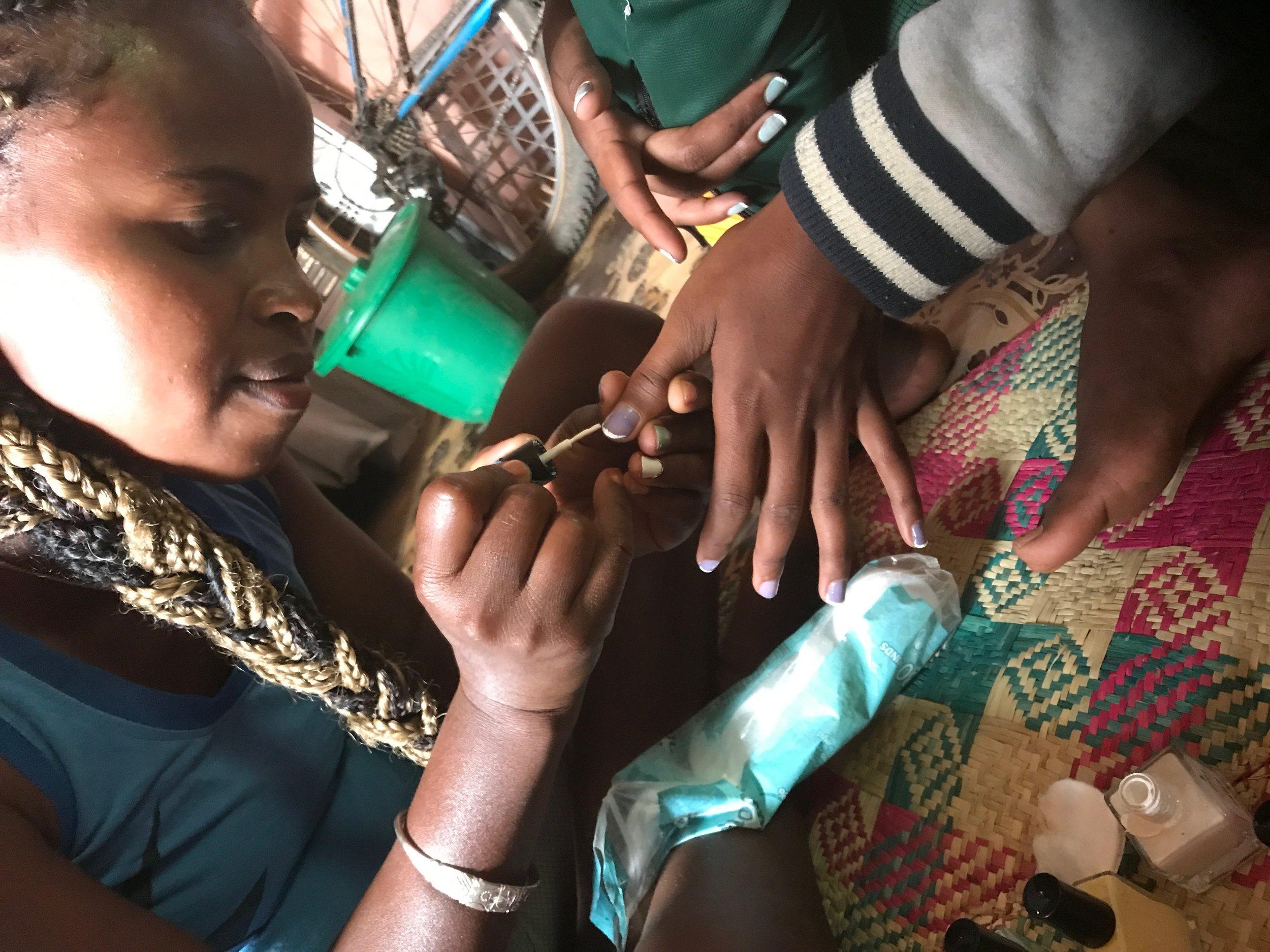 Tahina's amazing nail designs...