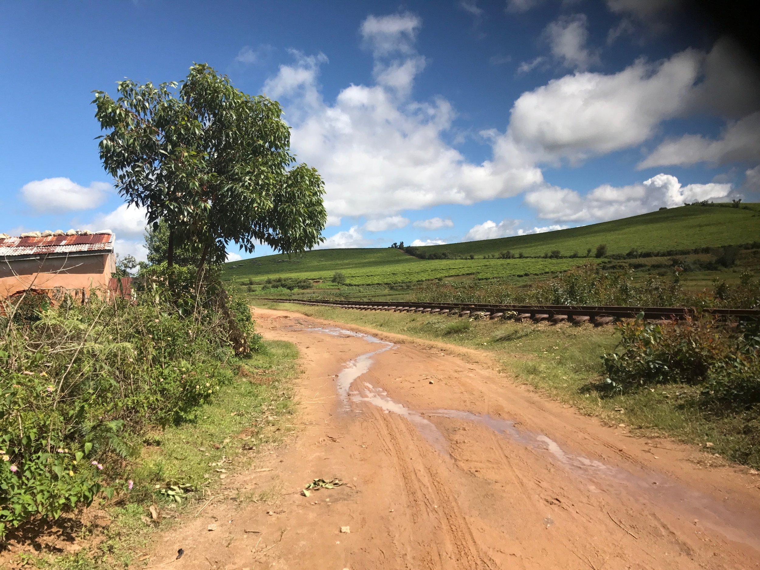 Bike path to the CEG...