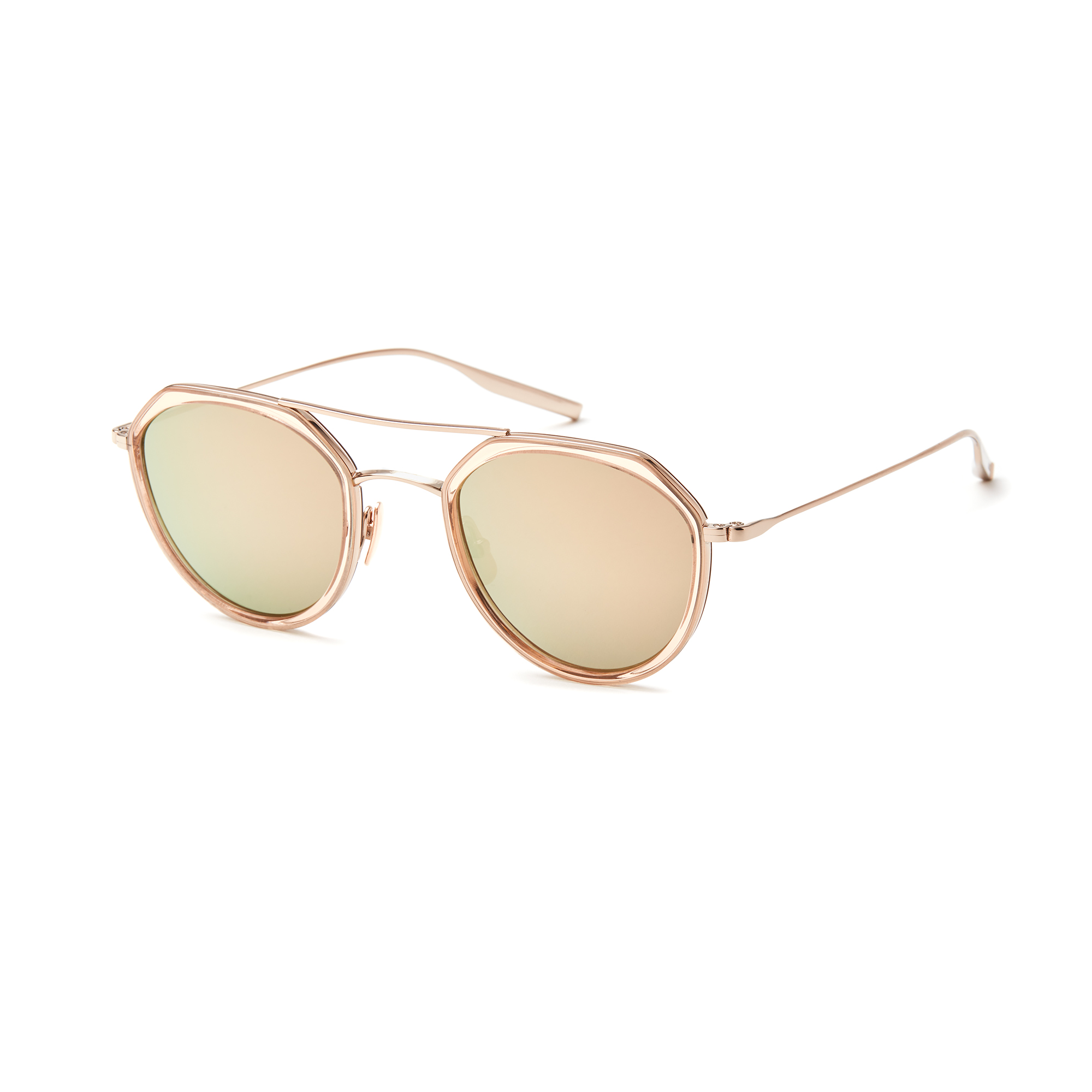 DIBERGI - THE OPTICAL. COThis 80's inspired silhouette adds a new aesthetic of simplicity in this Rose Gold sun by SALT. Modern style combined with quality materials delivers a sunglass frame she's going to love for years.image: SALT.