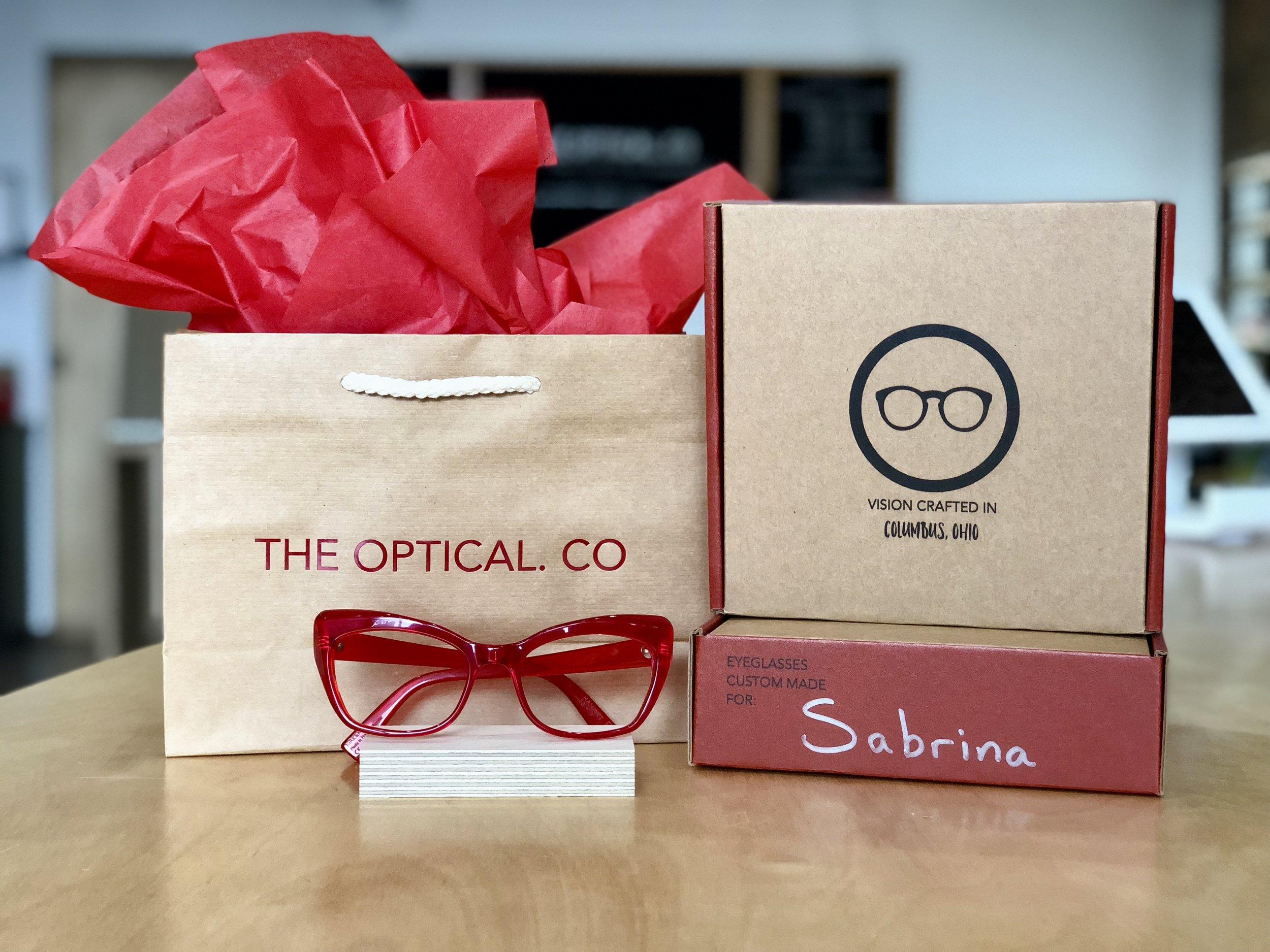 The Optical Co Branding.jpg