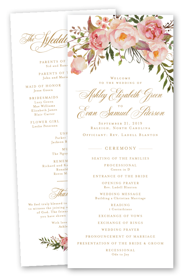 Blush Floral Wedding Programs.jpg