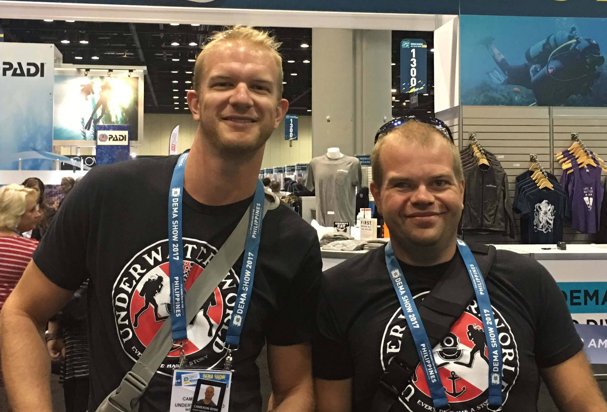 Cam and Ben at DEMA 2017