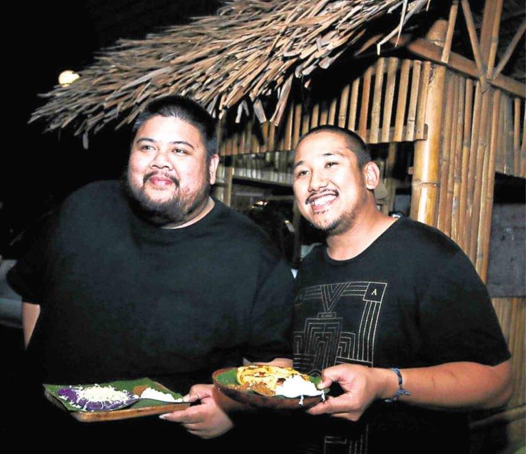 Alvin Cailan of Eggslut and Chad Valencia of Lasa