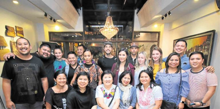 Fil-am chefs, organizers and resource persons at Provenciano Restaurant