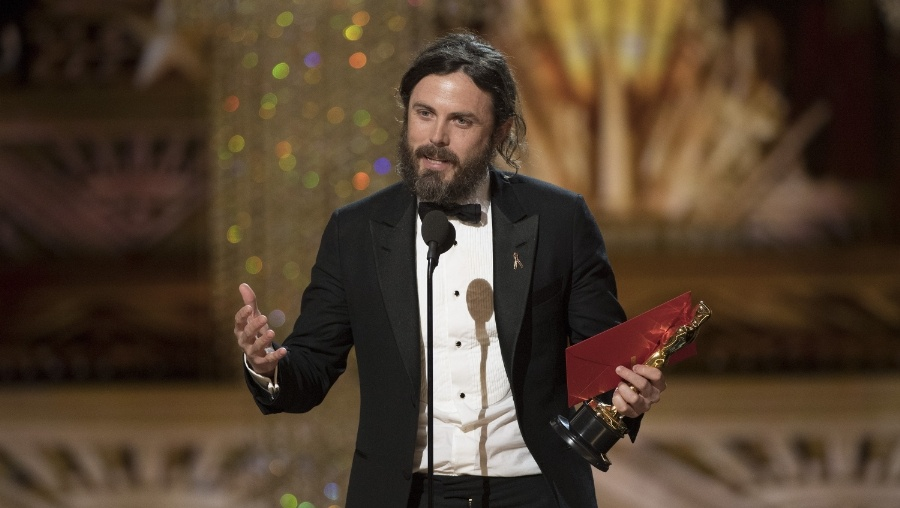 Casey Affleck giving his Best Actor in a Leading Role acceptance speech.