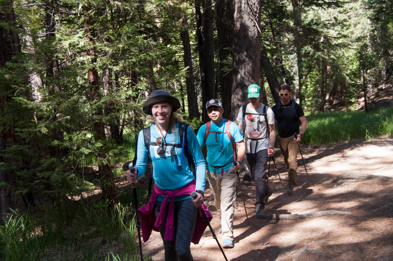 My wonderful friends and hiking buddies