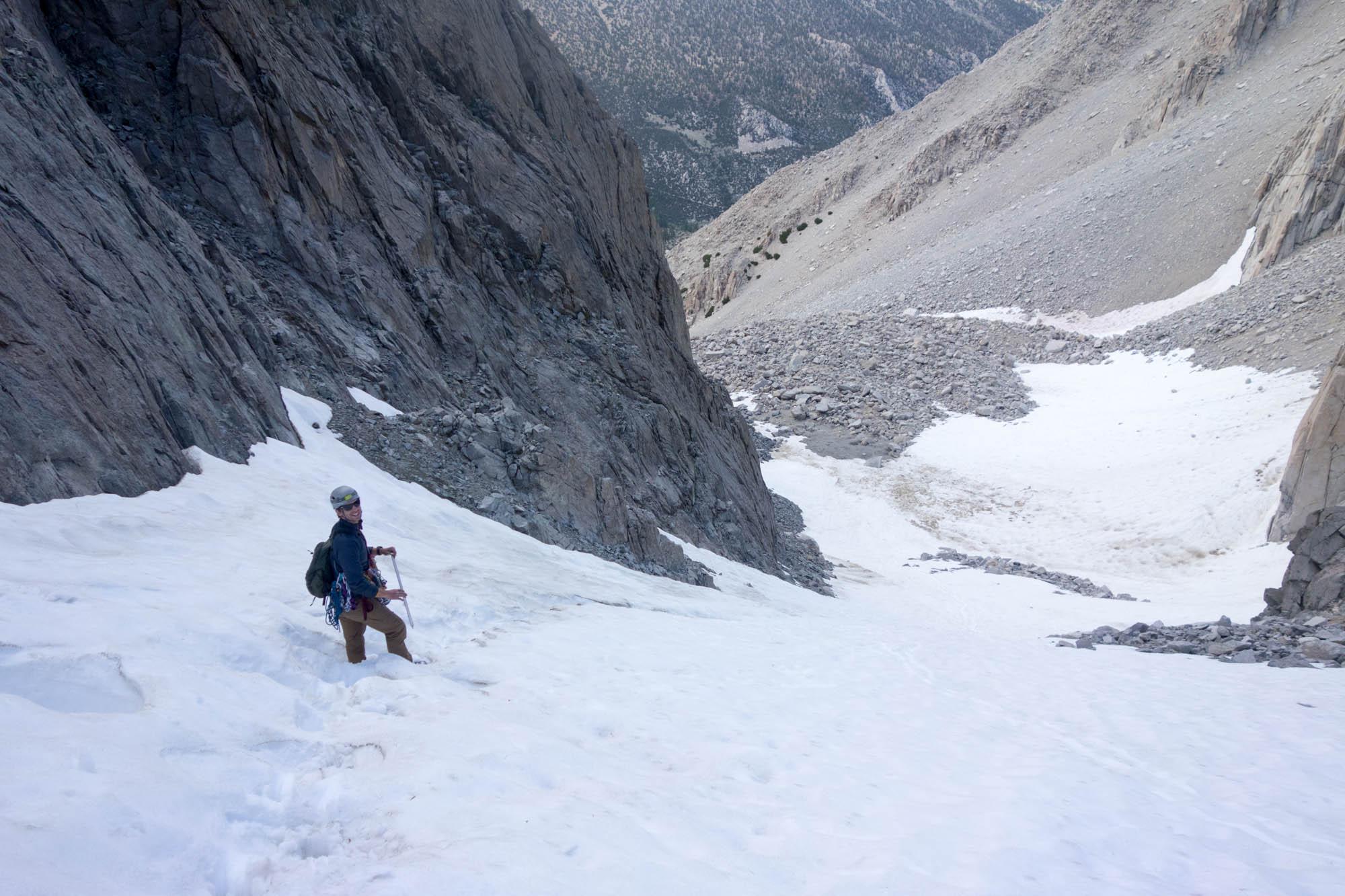 Snowfield Descent
