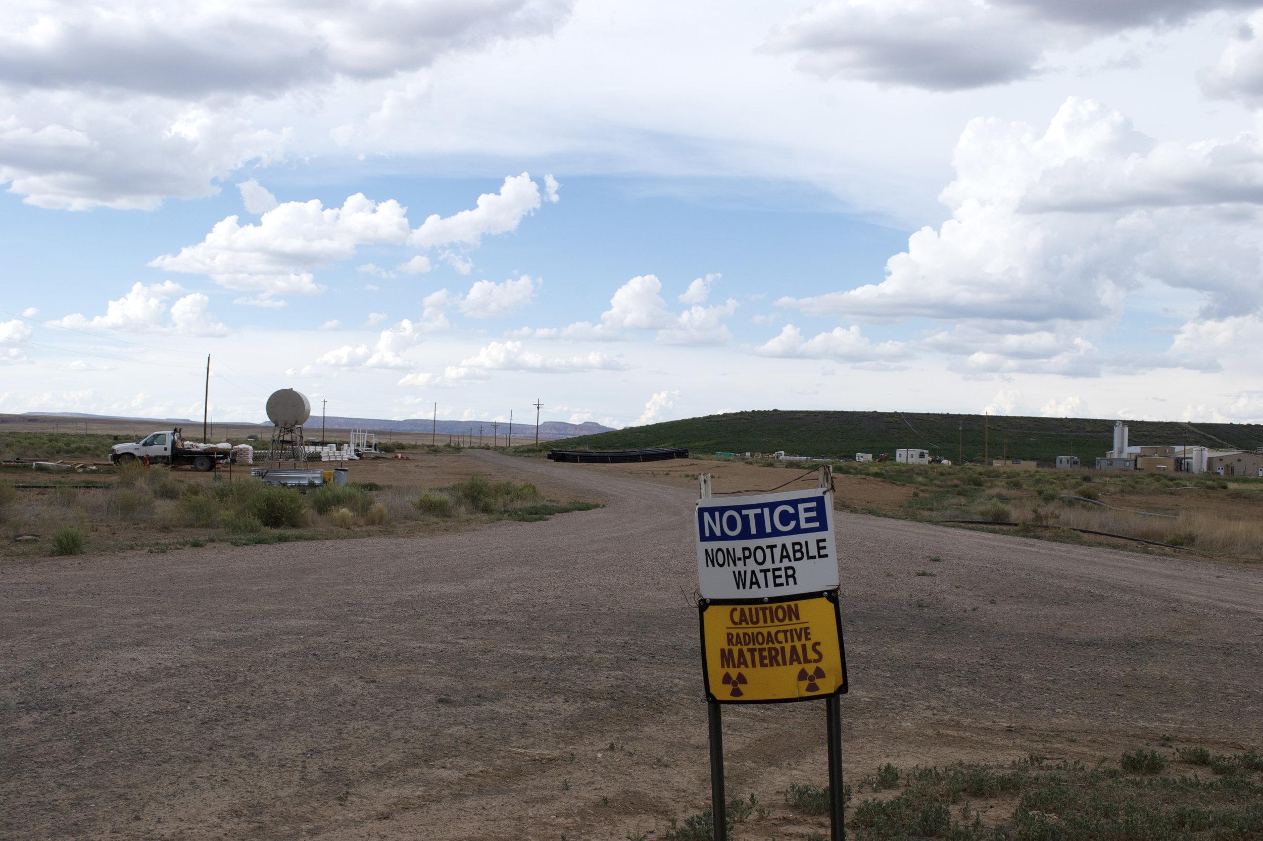 Homestake Area Sign