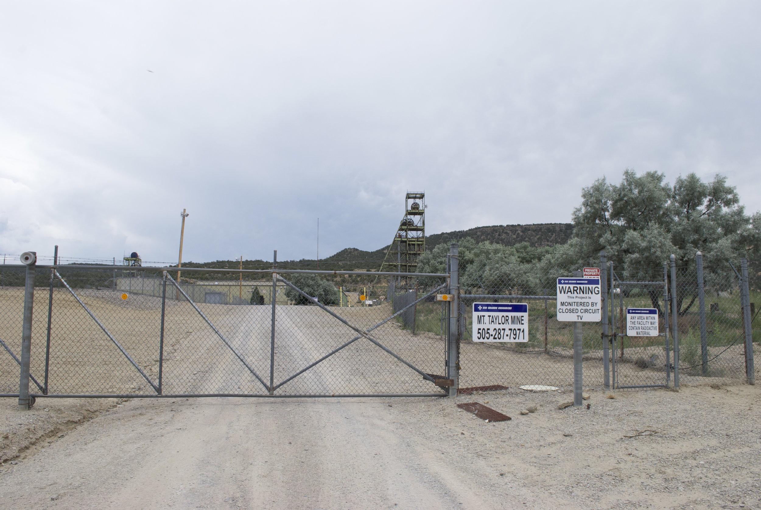 Entrance MT Mine