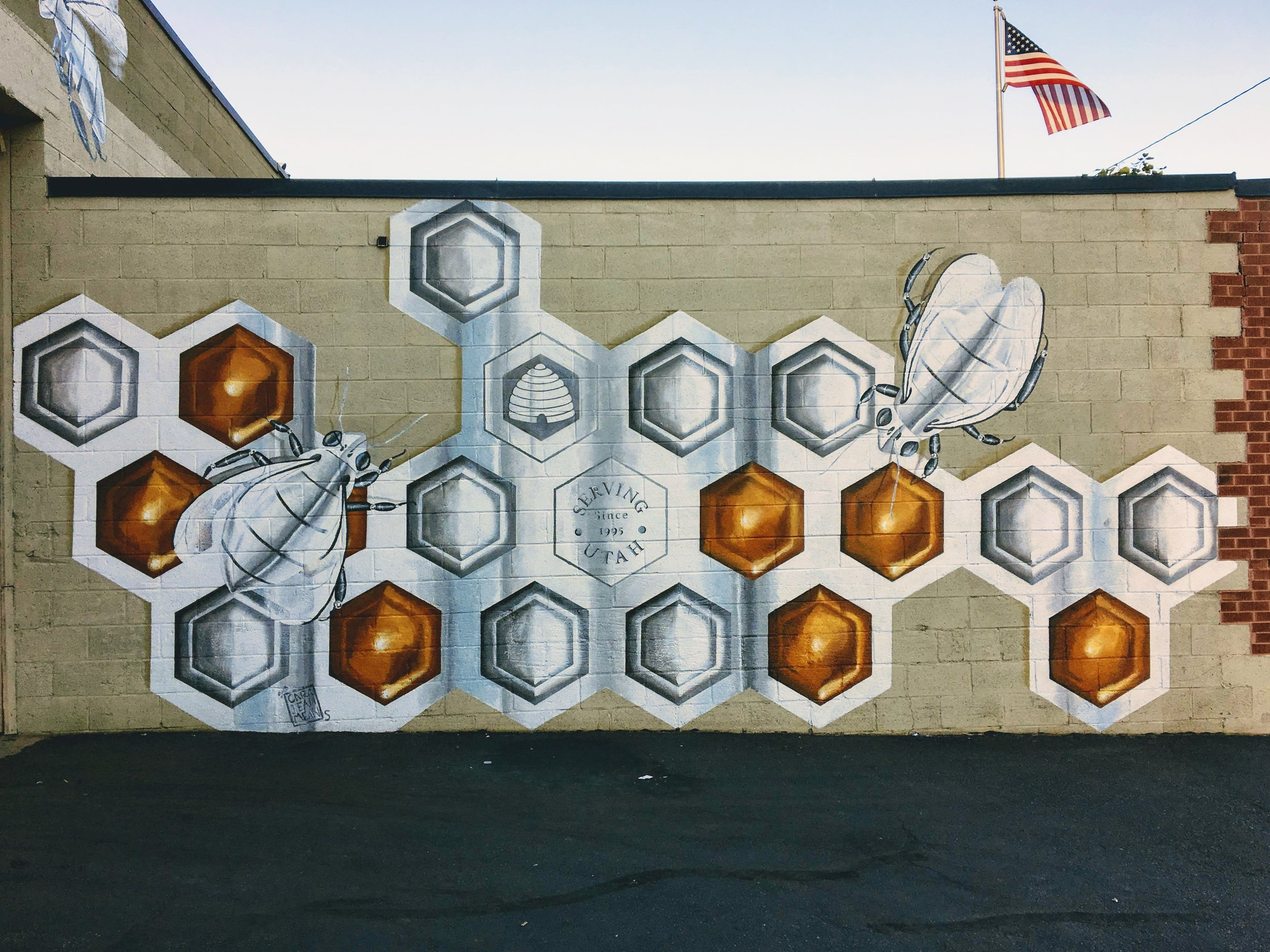 Granary, honeycomb.JPG