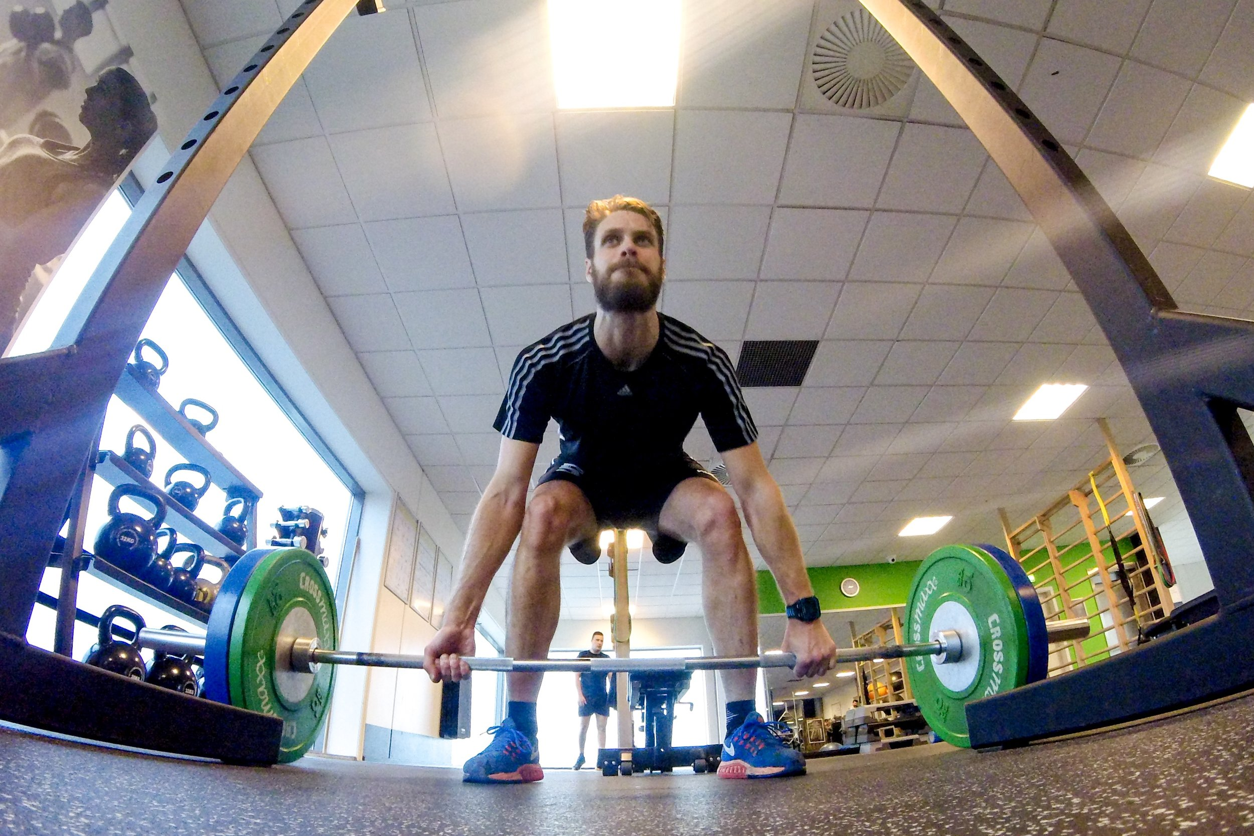 Deadlifts. GoPro Hero Session 4