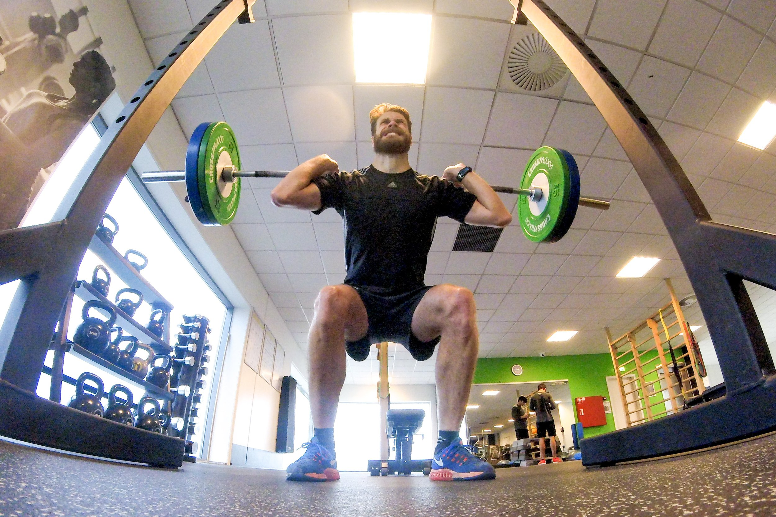 Squats. GoPro Hero Session 4
