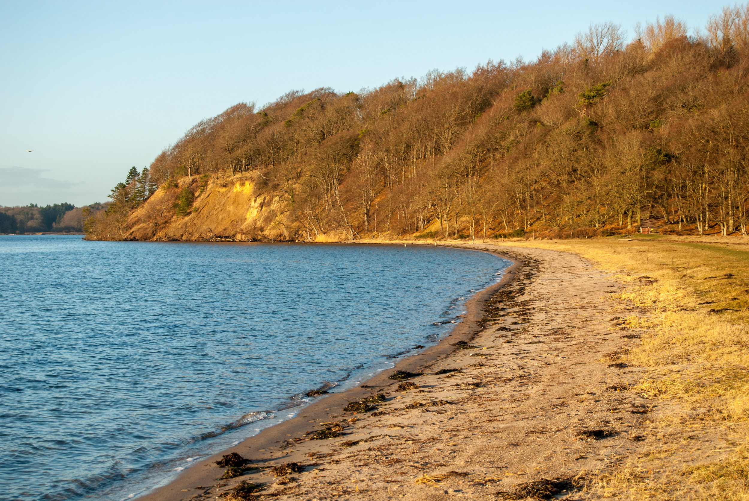 Beach at Hindsgavl. Nikon D200.