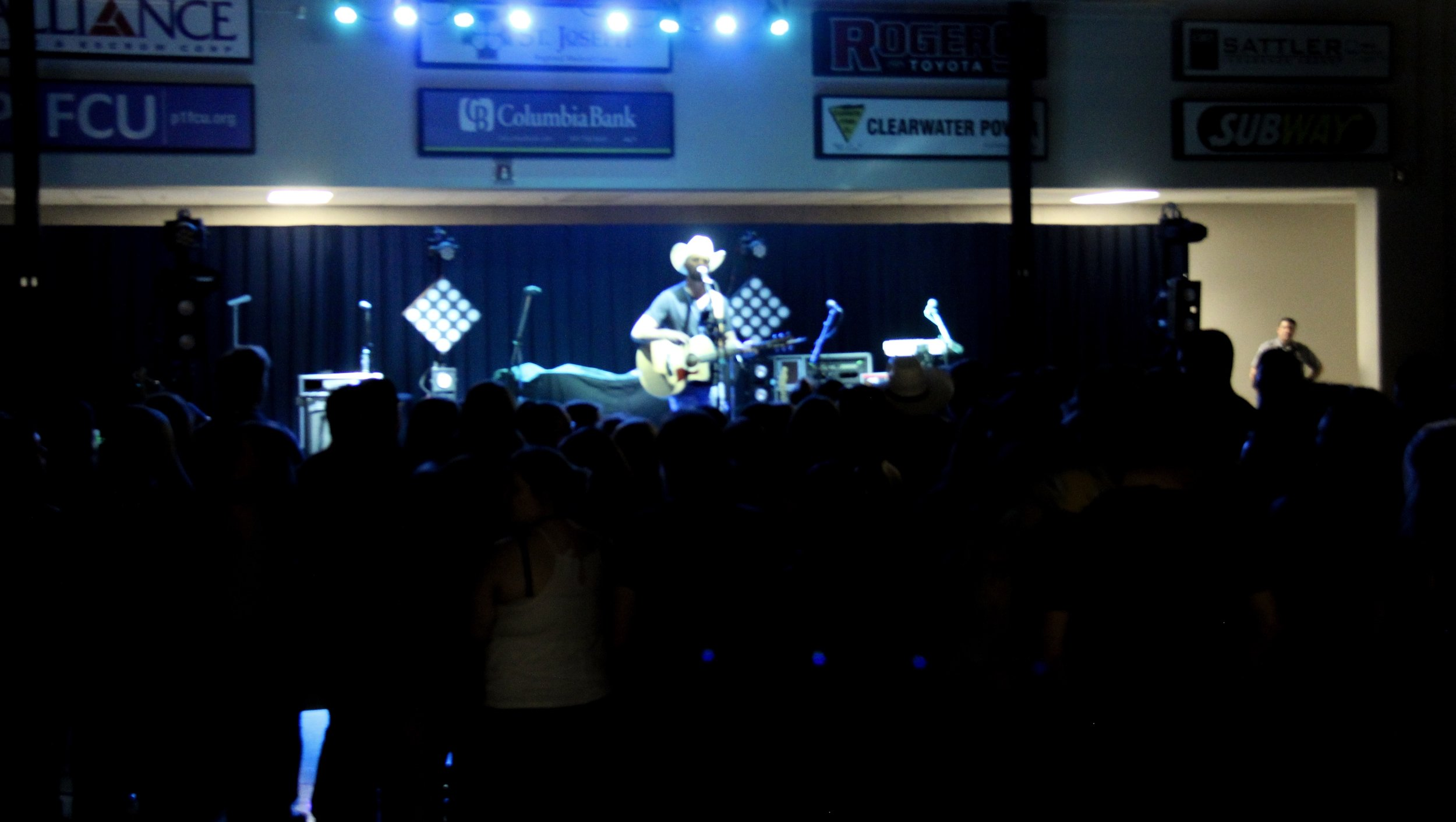 Opening for Dylan Schneider