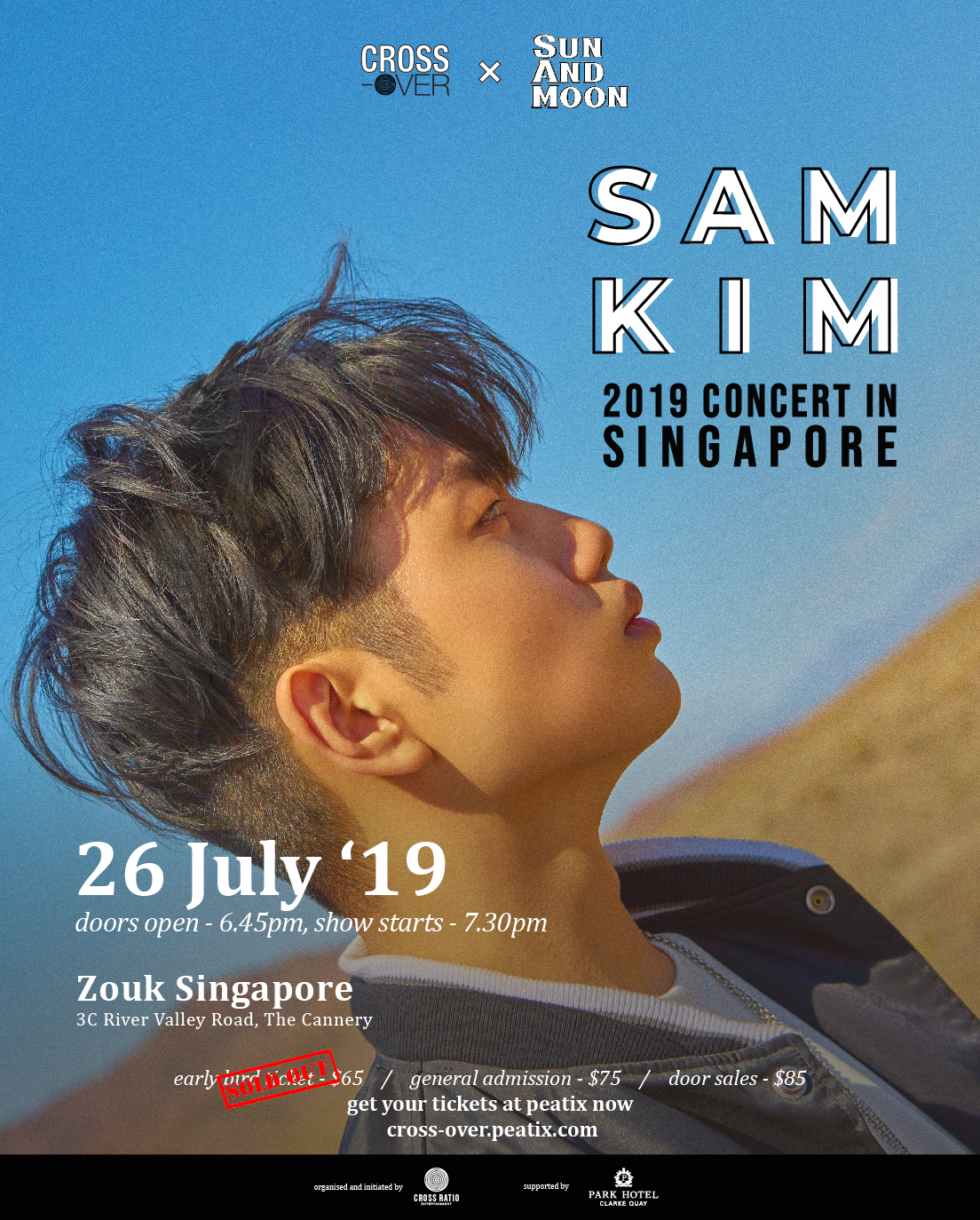 cross-over x Sam Kim official poster Updated