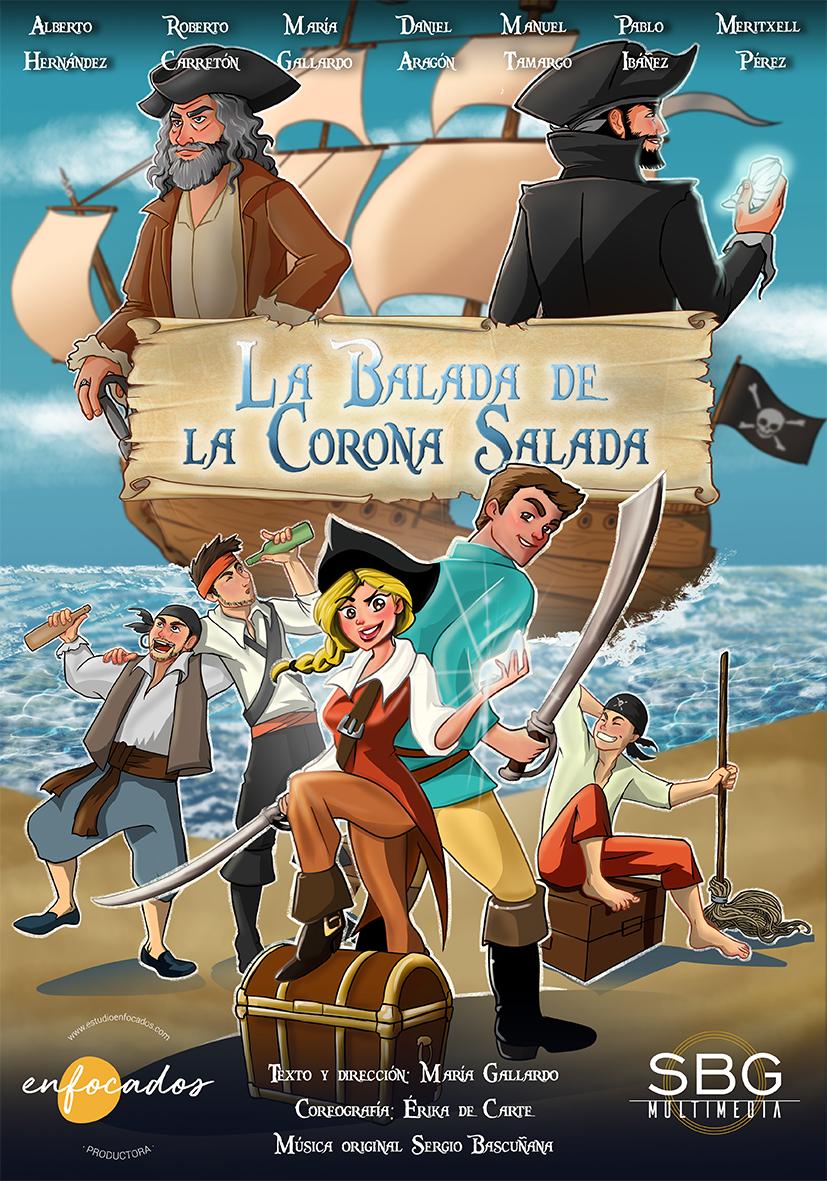 Cartel La Balada de la Corona Salada - Teatro Carrion.jpg