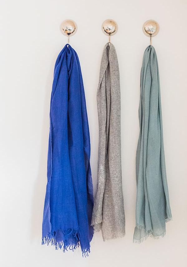 Bashed metal hooks from Zara