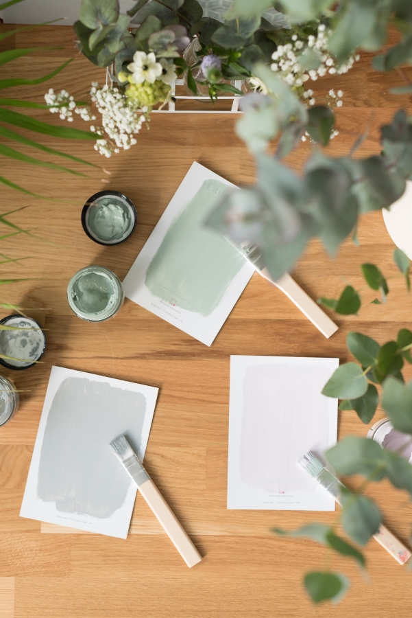 Project working from home - Paint samples