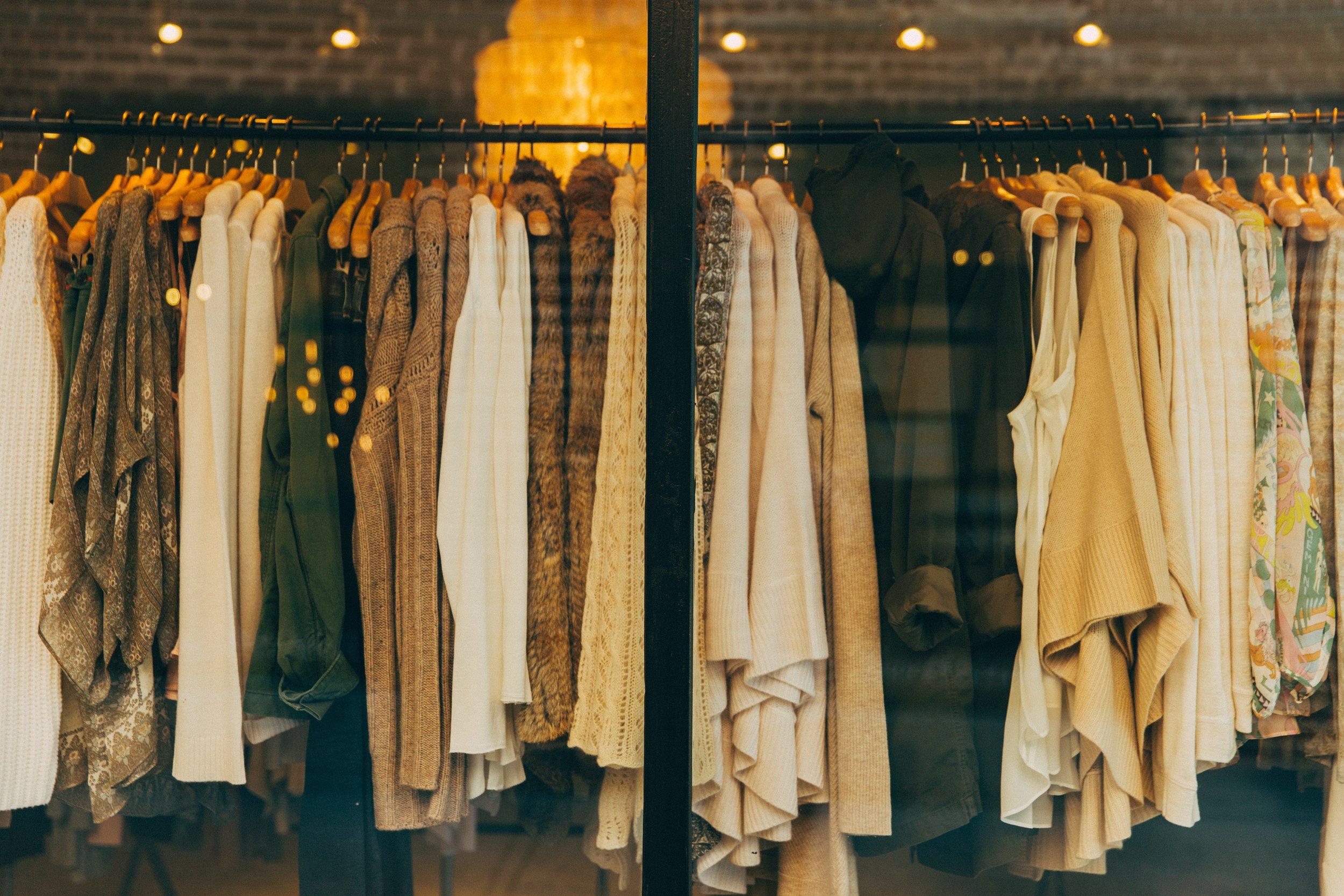Declutter your wardrobe