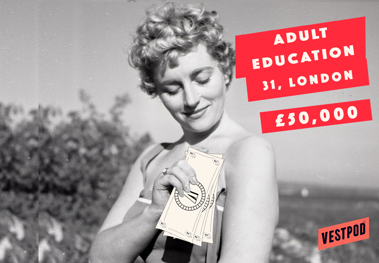 Adult Education. London. 31. In a relationship.