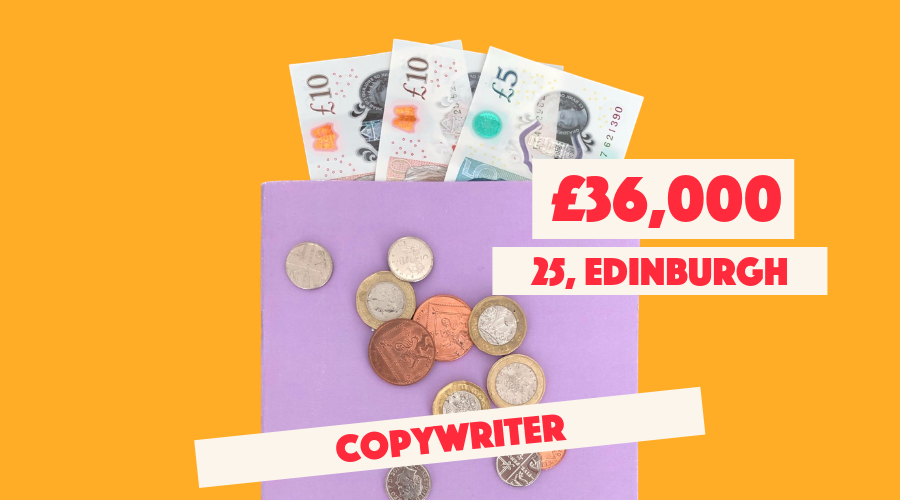 £36,000 Edinburgh Copywriter