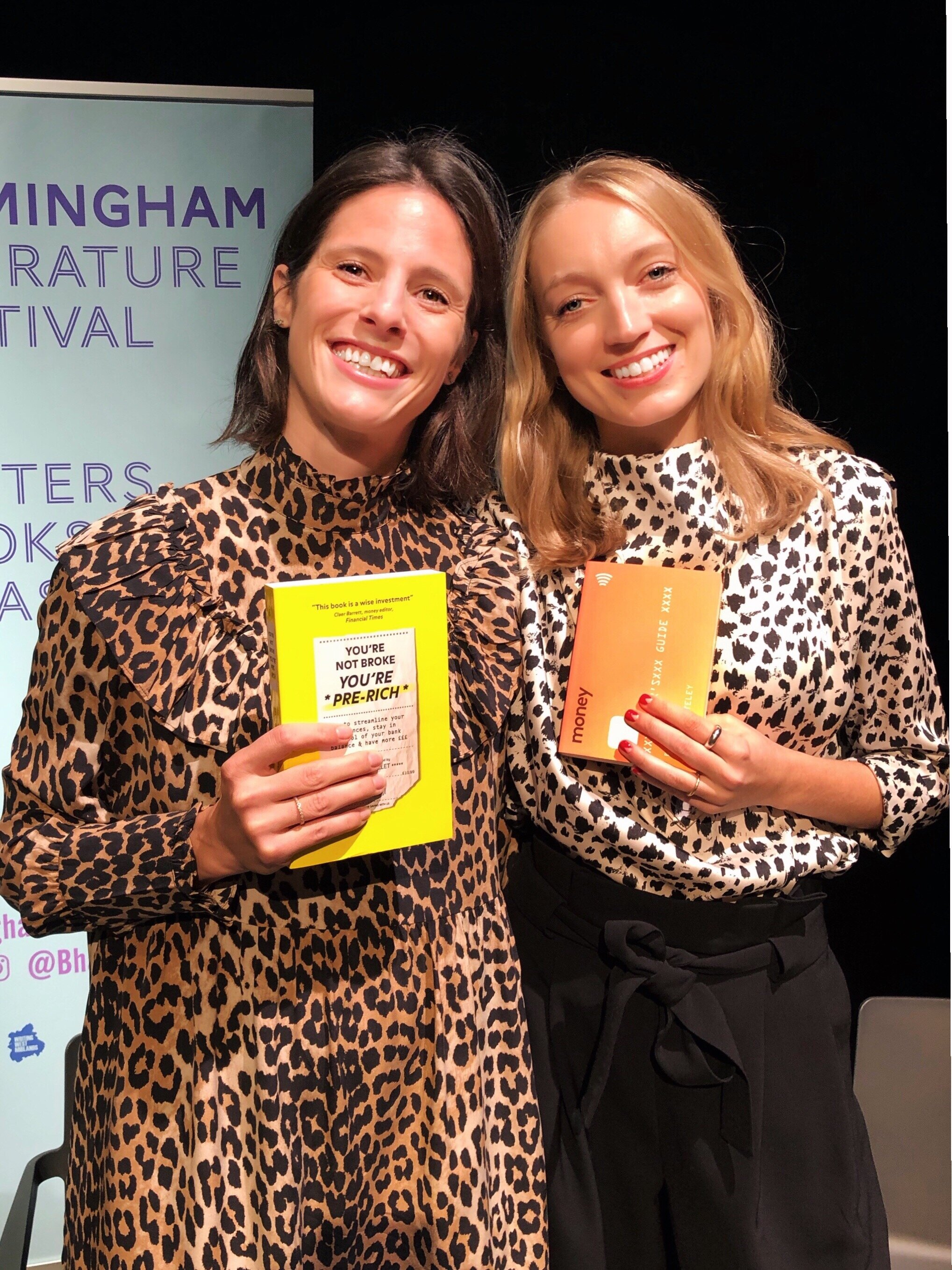 Money Matters @ Birmingham Literature Festival with Emilie Bellet and Laura Whateley - Sat 05 Oct 13:30, chaired by Sathnam SangheraGreat day at the Birmingham Literature Festival last Saturday talking about... money! with amazing author and journalist Laura Whateley.Thank you Antonia Beck for the very kind invitation and to everyone who came.EmilieAre you someone who tends to spend more than you earn? Always living in fear of looking at your bank balance and surviving on baked beans come payday? From relationships, to ambitions and mental health, money plays a huge role in our lives and yet it often feels taboo to talk about it. Not any more. It's time to take back control of our bank balances and start talking about money.Join writers Emilie Bellet and Laura Whateley as they discuss their latest books about our relationships with money, and share practical tips to help us feel more in control of our finances. From savings and pensions to discussing the gender pay gap and fighting for a pay rise, Laura and Emilie are on a mission to debunk the financial jargon and break the taboos around money. Come and be part of this important conversation and discover how talking about money can actually change your life.