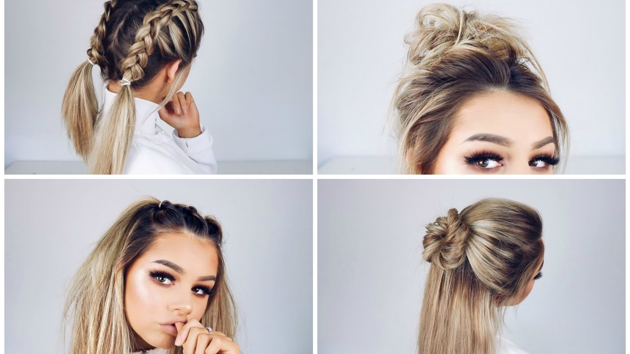 8 Five-Minute Hairstyles For Busy Mornings