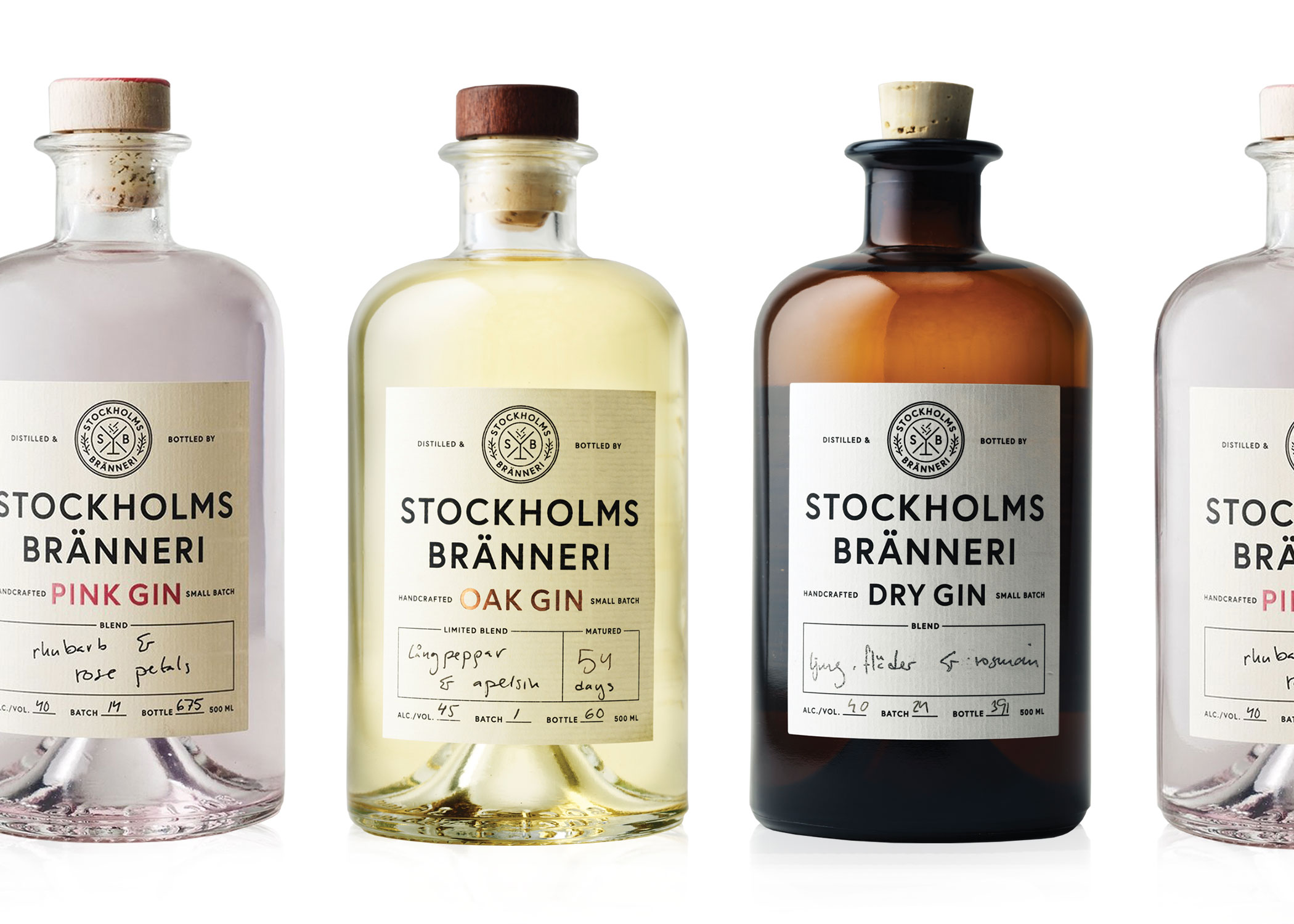 Stockholms Bränneri - The first hand-crafted organic premium gin from Stockholm, Sweden. Stockholms Bränneri is situated in an old Jaguar workshop on the island of Södermalm in Stockholm, Sweden. Stockholms Bränneri Pink Gin, Oak Gin and Dry Gin available.