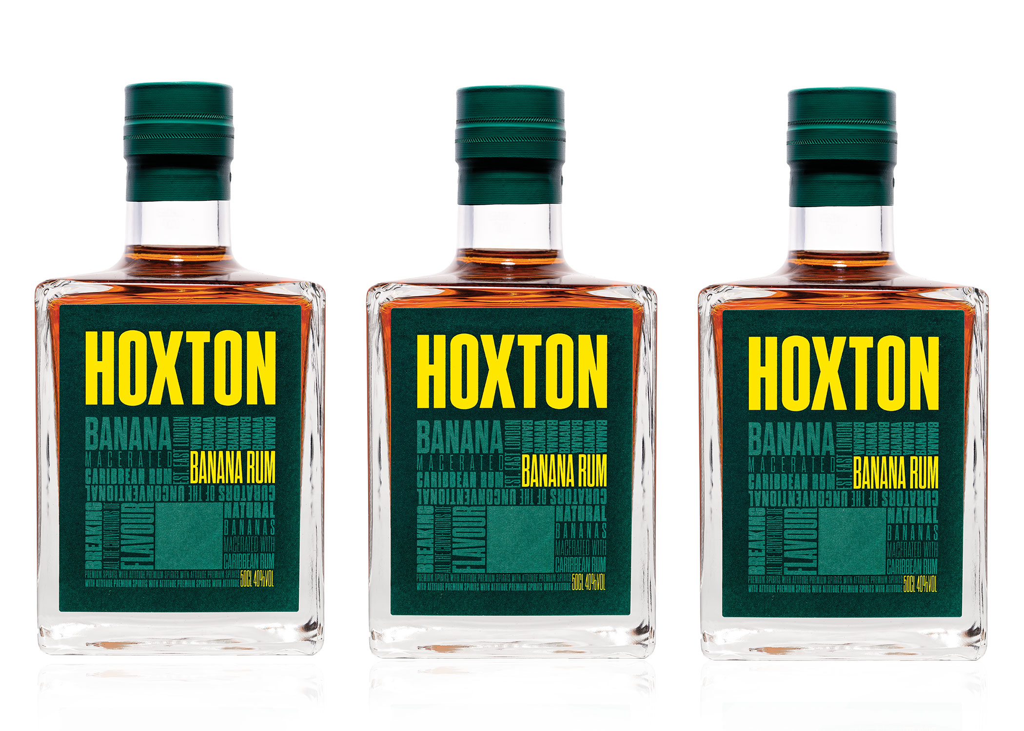 HOXTON BANANA RUM - Hoxton Spirits are proud to announce the launch of Hoxton Banana Rum. Inspired by island living and created with lots of love and passion through an extensive process which involves fresh and dried banana being macerated for five weeks with the finest hand-selected Caribbean rums.