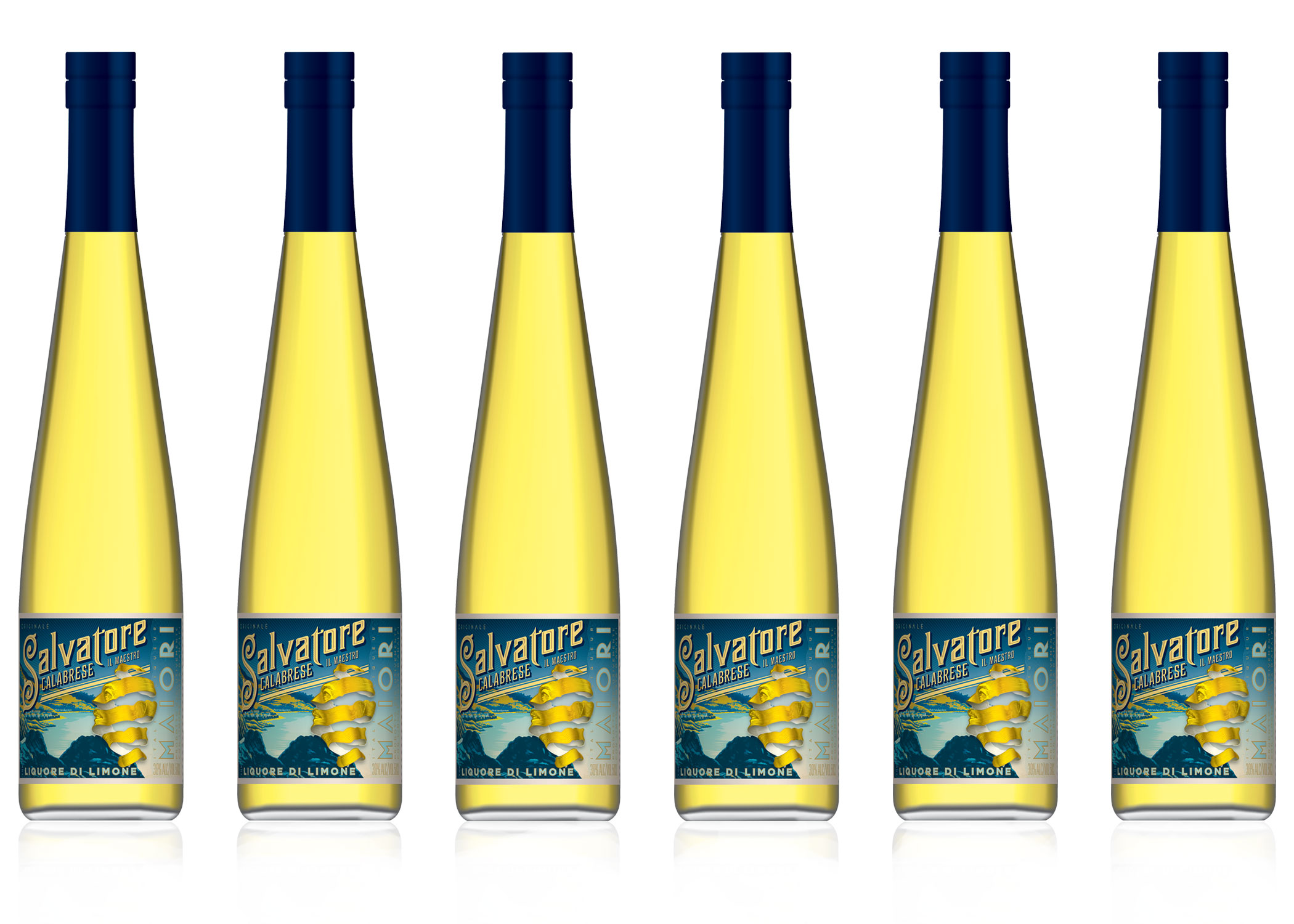 SALVATORE CALABRESE LIQUORE DI LIMONE - Liquore di Limone has a unique zesty aroma and a superb taste which comes from using only natural ingredients its literally the best Lemon Liqueur in the World!