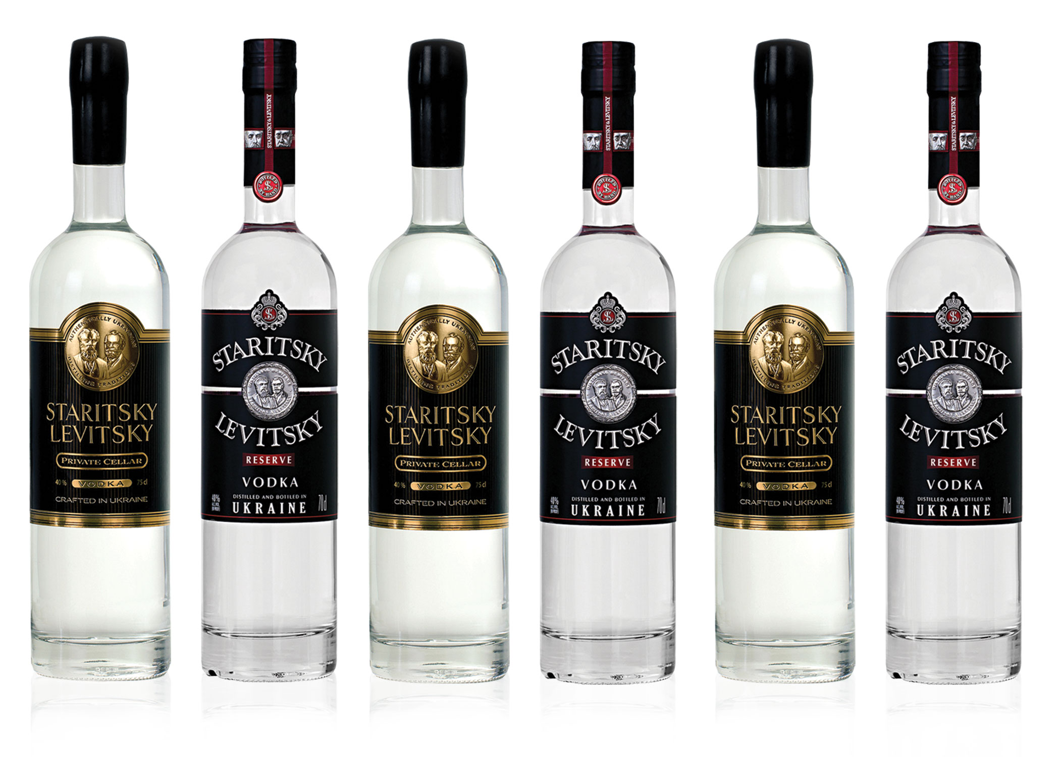 STARITSKY & LEVITSKY - Staritsky & Levitsky are a group of vodka enthusiasts, passionate about reviving the heritage and traditions of authentic, small batch vodka distillation in the historic birthplace of vodka production. After years of field trips, tastings and recipe research in the geographic