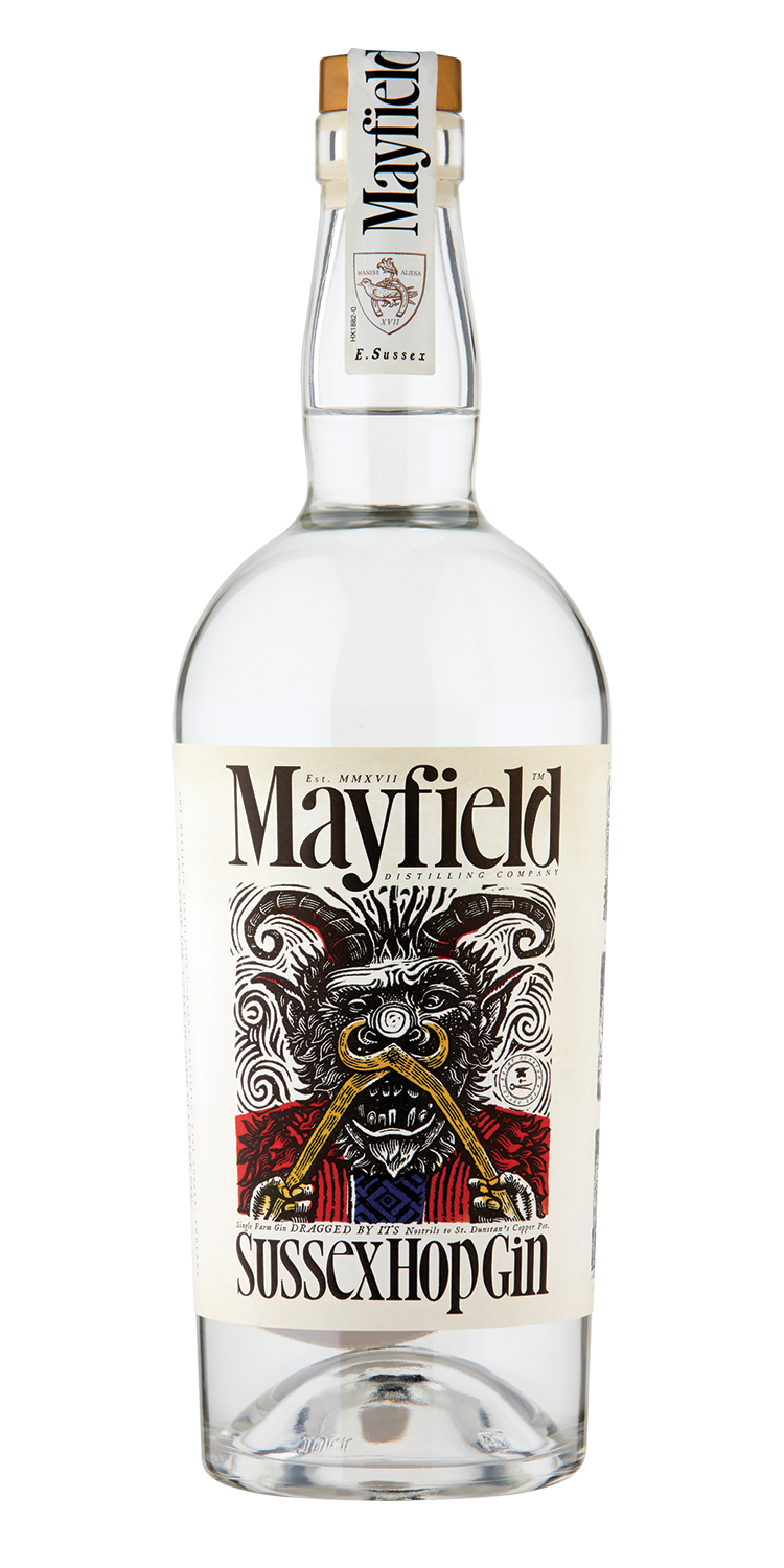 MAYFIELD SUSSEX HOP GIN |   70CL 40% ABV.