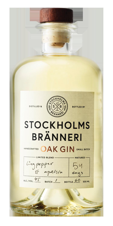 STOCKHOLMS BRÄNNERI OAK GIN -