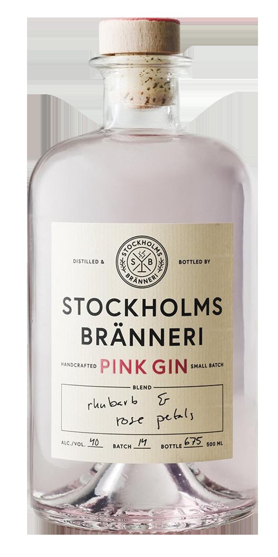 STOCKHOLMS BRÄNNERI PINK GIN -