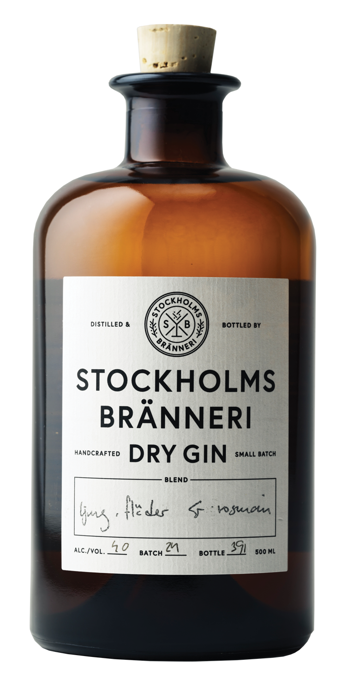STOCKHOLMS BRÄNNERI DRY GIN -