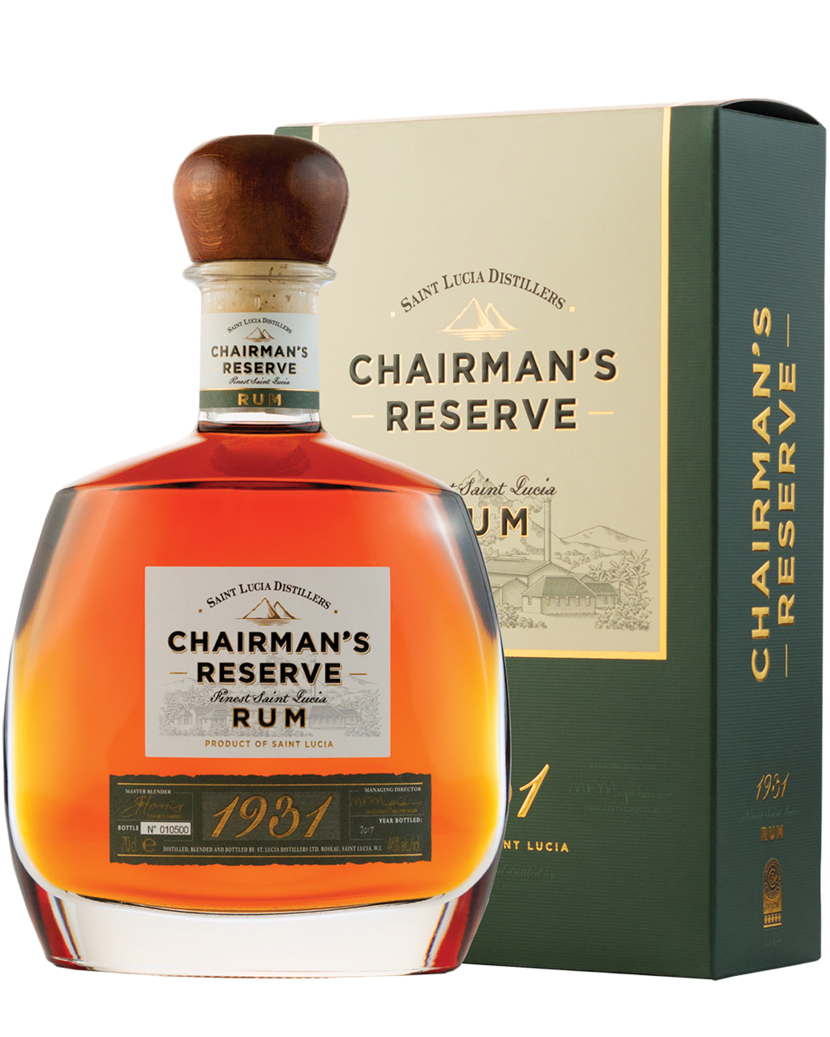 CHAIRMAN'S RESERVE 1931 |   70CL 46% ABV.