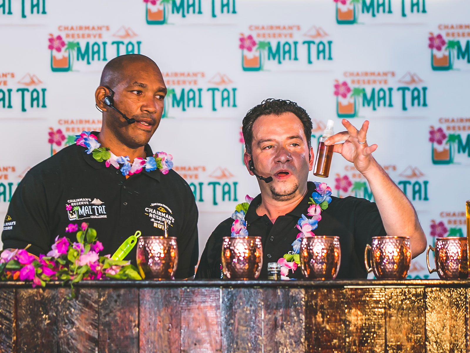 THE CHAIRMAN'S RESERVE MAI TAI FINALS - AT LONDON COCKTAIL CLUB IN BETHNAL GREEN LONDON