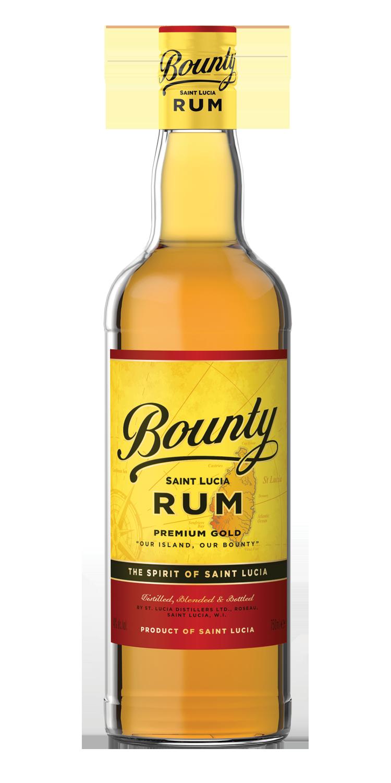 BOUNTY GOLD RUM -