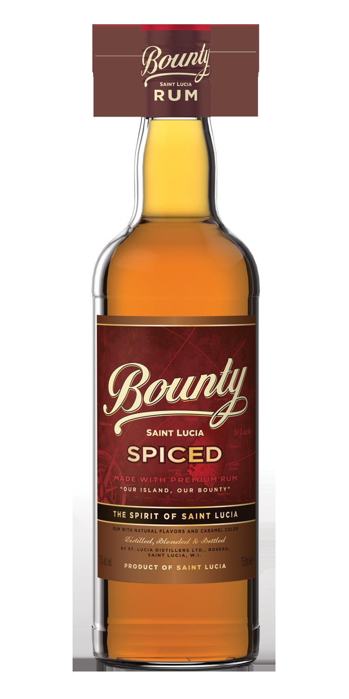 BOUNTY SPICED RUM -