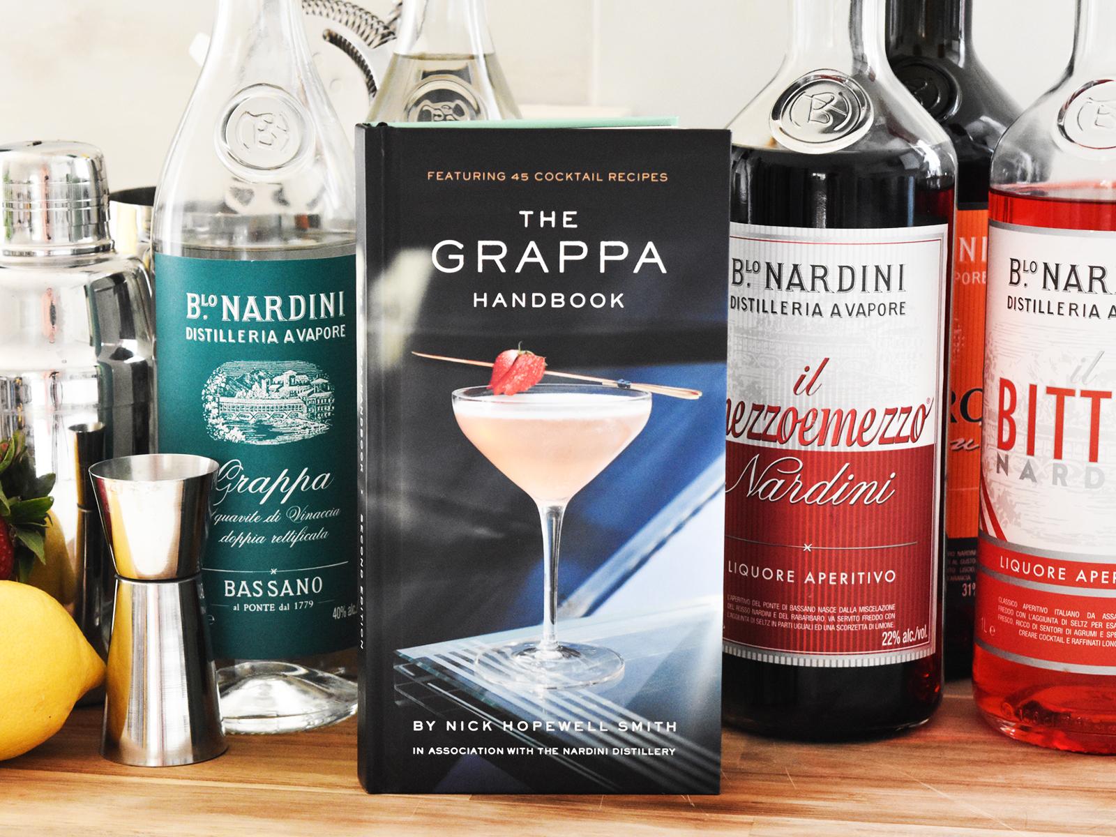 THE GRAPPA HANDBOOK - LAUNCH EVENT IN SCOTLAND
