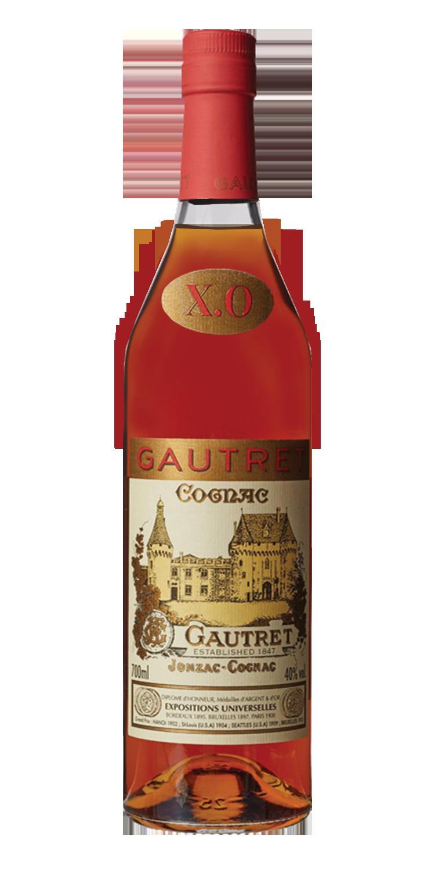 JULES GAUTRET X.O. COGNAC      70CL 40% ABV.