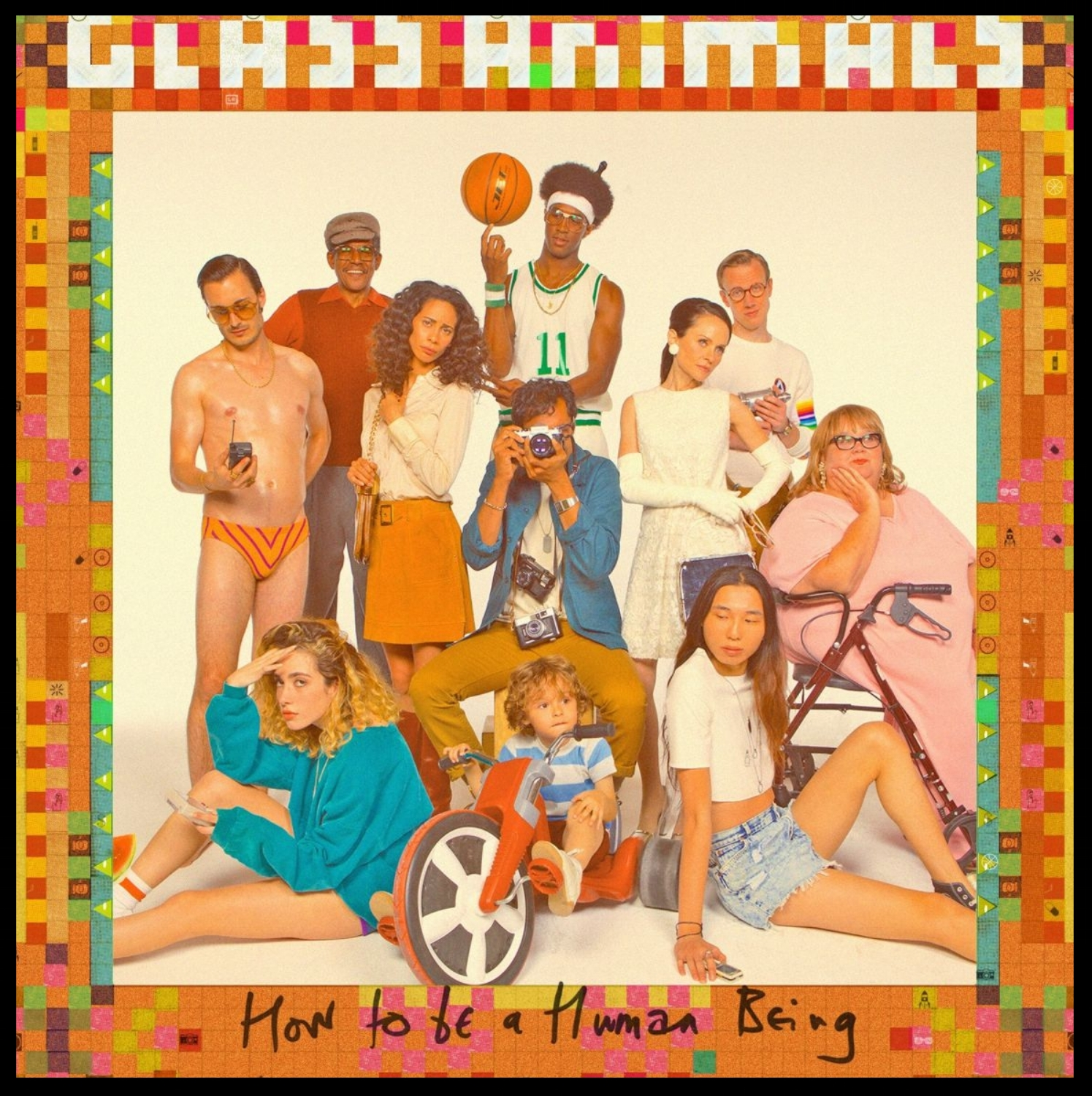 Glass Animals How to be a Human Being  Engineering / Mixing