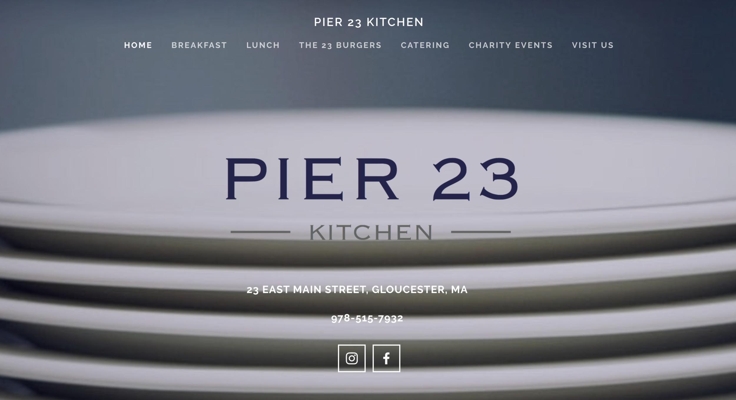 Pier 23 Kitchen, Gloucester, Ma