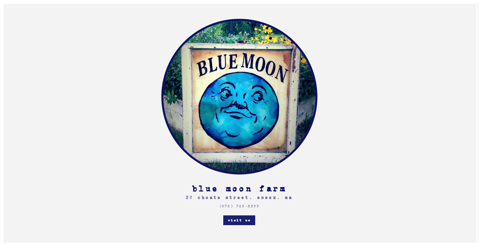 blue moon farm essex