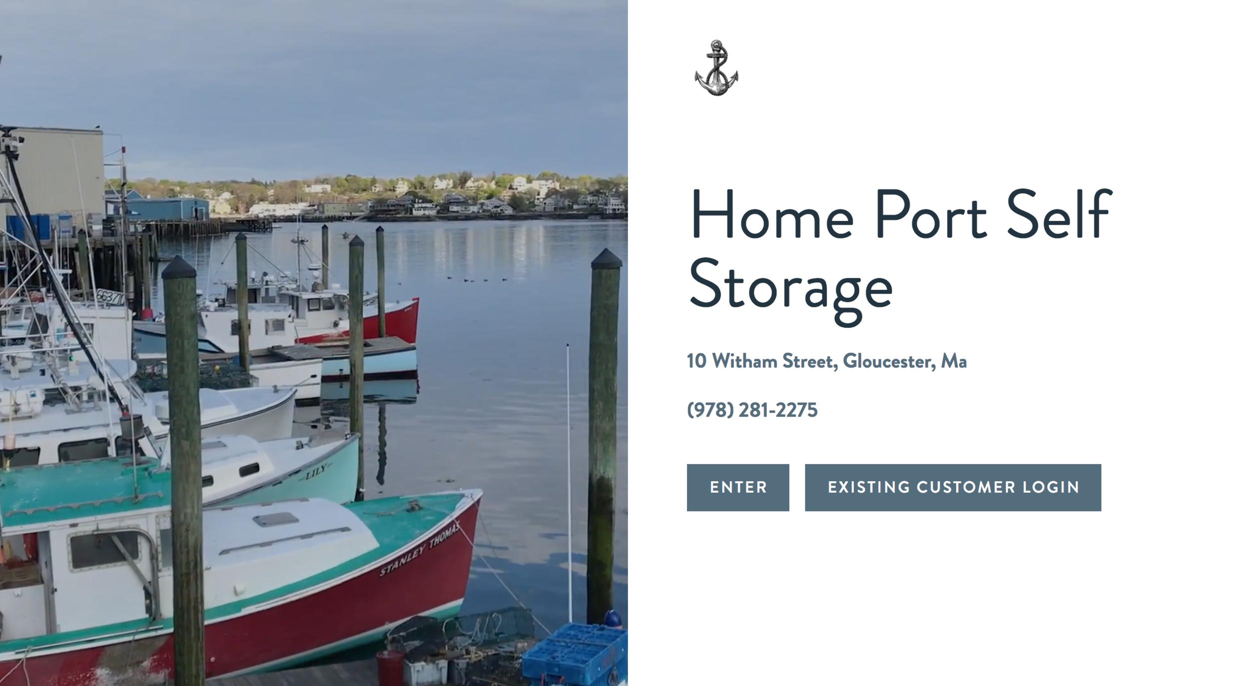 home port self storage, gloucester, ma