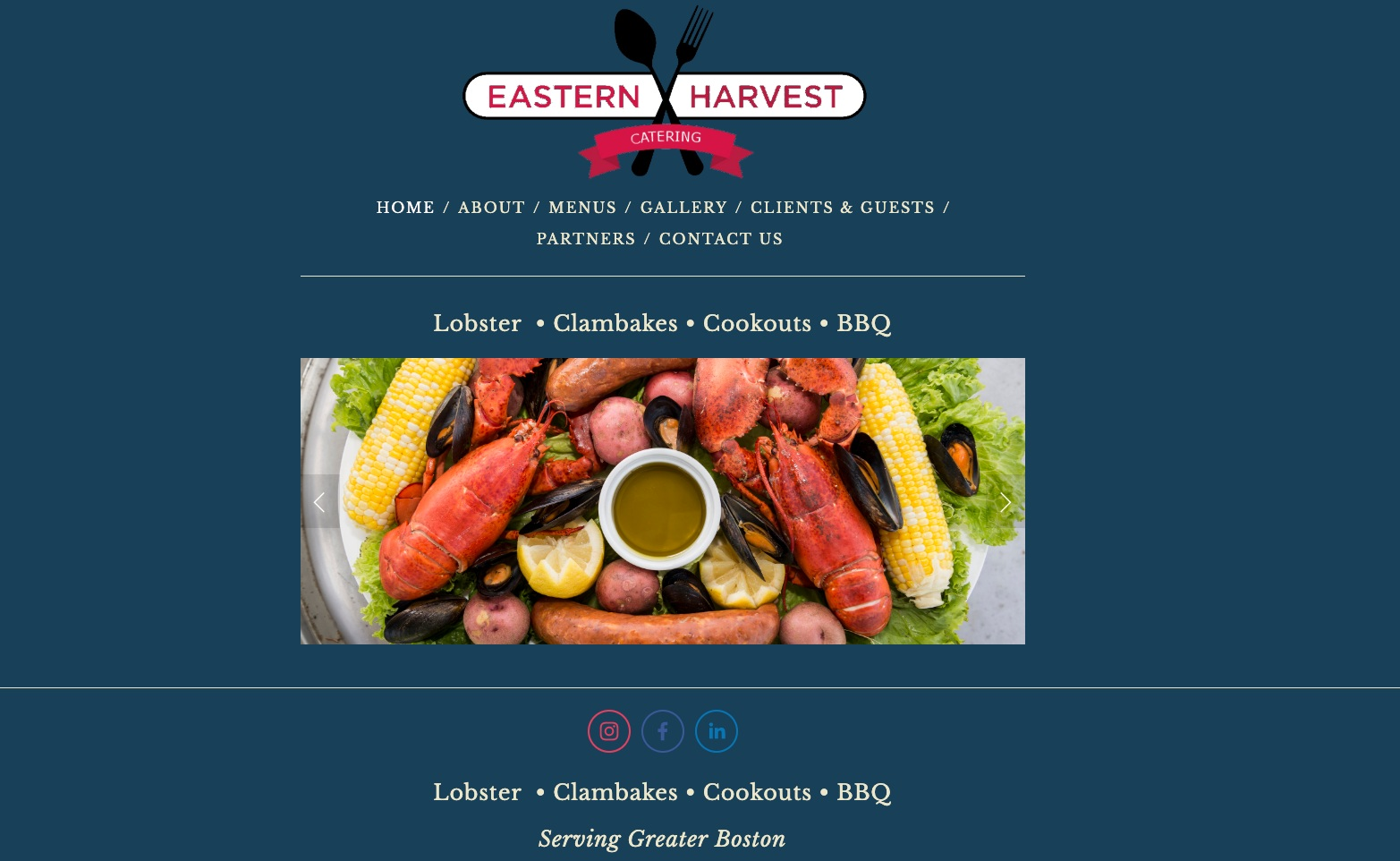 Eastern Harvest Catering