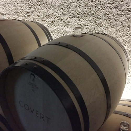 If you have not noticed...insanely clean barrels! Julien is super strict with cleanliness in his cellar.