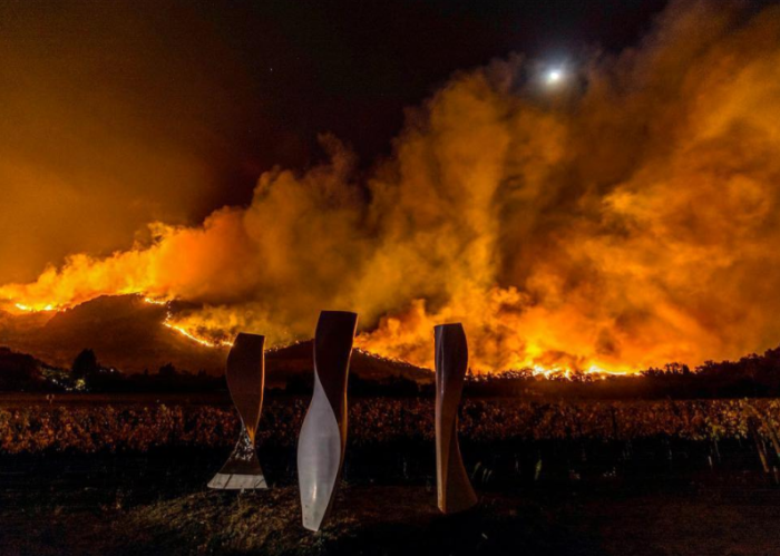 Fires in Napa