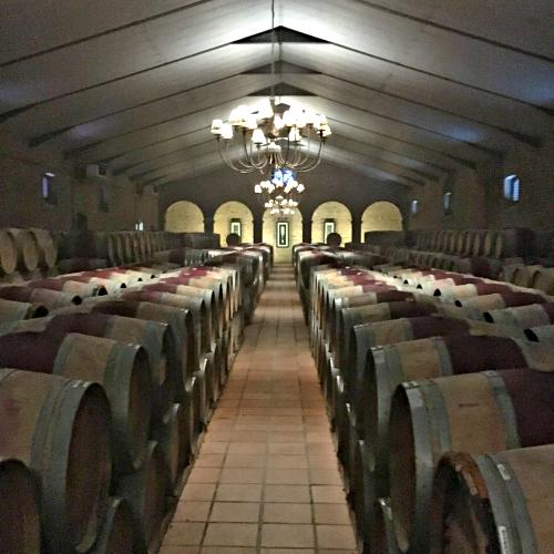 Barrel Room at the Estate