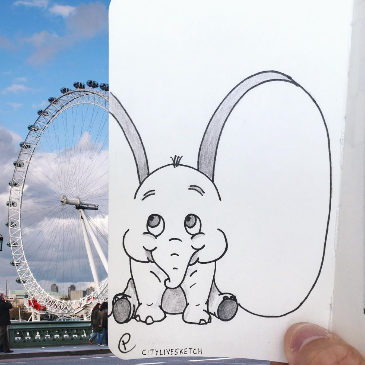 CityLiveSketch's Instagram